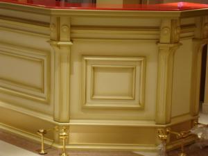 Фото Барные стойки Барная стойка из массива