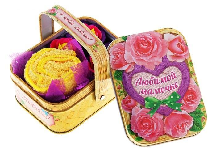 """Мыльные лепестки в корзиночке """"Любимой мамочке"""" 129881"""