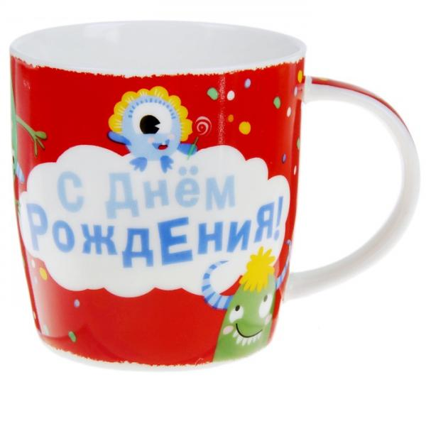 """Кружка """"С Днем рождения"""", 300 мл 874657"""