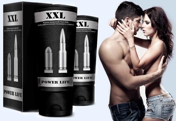Power Life xxl крем для увеличение члена и потенции