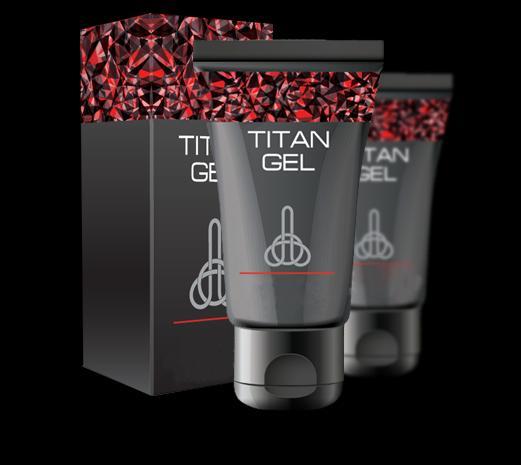 Американский препарат для увеличения члена «Titan Gel»