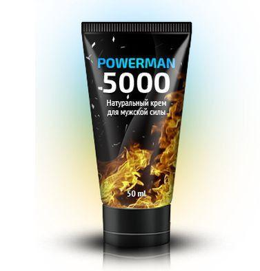 Крем для потенции - «PowerMan 5000»