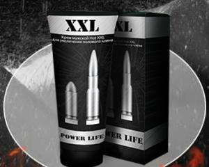 Фото  Уникальный крем для увеличение члена - XXL Power Life