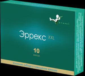 Фото  Эррекс XXL- средство для усиления полового влечения и стимуляции эректильной функции