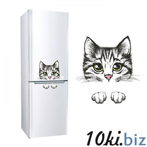 """Наклейка для холодильника """"Кошка"""" 860901 купить в Актобе - Интерьерные наклейки"""