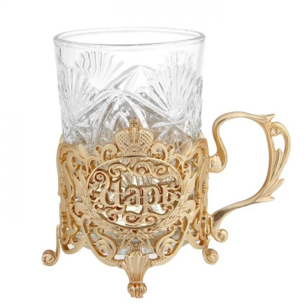 """Подстаканник со стаканом """"Царь"""" 876816"""