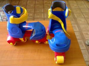 Фото ОТДЫХ И СПОРТ Детские роликовые коньки