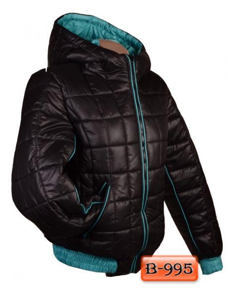 Арт. В-995     Короткая зимняя куртка «Кубик»