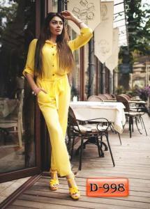 Фото Костюмы женские, деловые, повседневные Арт. D-998     Легкий женский комбинезон