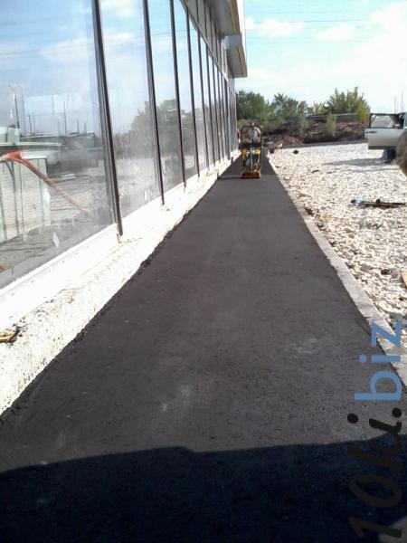 Асфальтирование тротуаров Дорожные работы в Самаре
