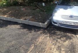 Фото  Ямочный ремонт дорог