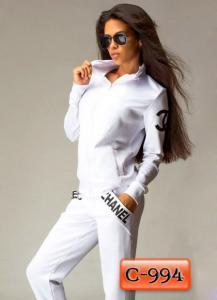 Фото Спортивные костюмы Арт. С-994     Спортивный костюм с логотипом «Chanel»