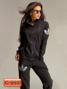 Фото Спортивные костюмы Арт. С-993     Спортивный костюм с логотипом «Adidas»