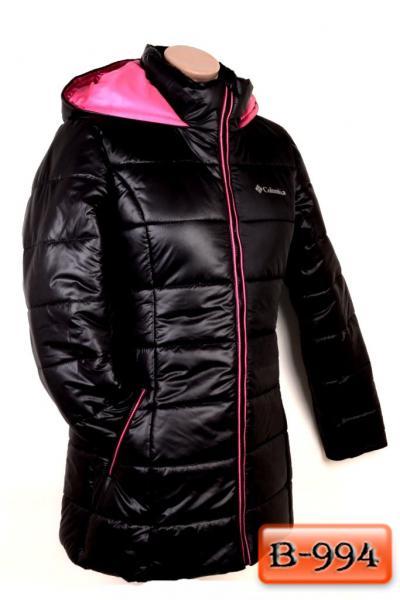 Арт. В-994     Удлиненная зимняя куртка «COLUMBIA»