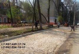 Фото  Асфальтировка дворов
