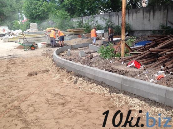 Установка бордюрного (бортового) камня, поребриков Дорожные работы в Самаре