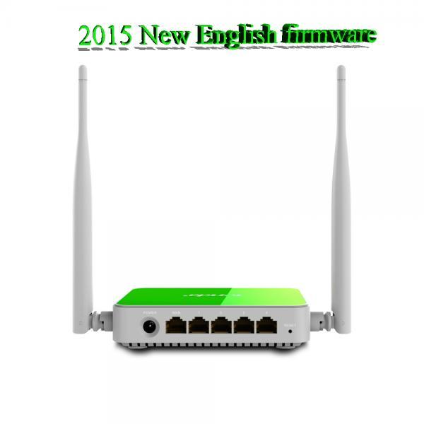 Wifi роутер Tenda маршрутизатор беспроводной маршрутизатор ретранслятор Qos 300 Мбит английский прошивки F318 WI FI маршрутизатор 11b / g / n усилитель сигнала