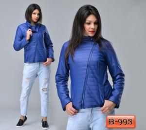 Фото Верхняя одежда Арт. В-993     Куртка с косой змейкой