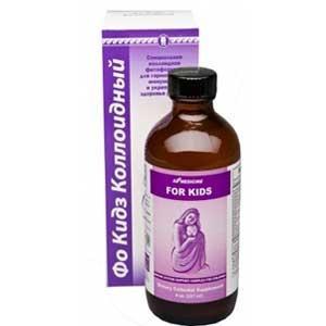 Фо Кидз, коллоидная фитоформула (для повышения иммунитета ребёнка)