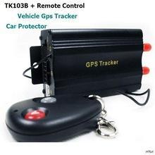 Реальном времени GSM GPRS GPS автомобиля корабля GPS трекер дистанционного управления GPS слежения TK103B