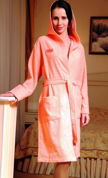 Махровый халат женский «НИК Teкстиль»