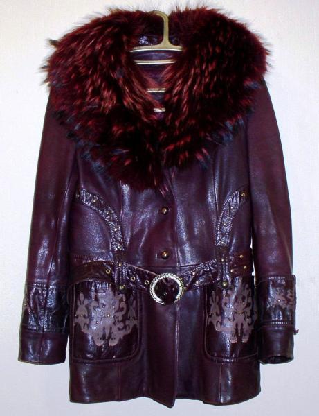 """Куртка с поясом зимняя женская """"Xindеlai"""" *2278"""