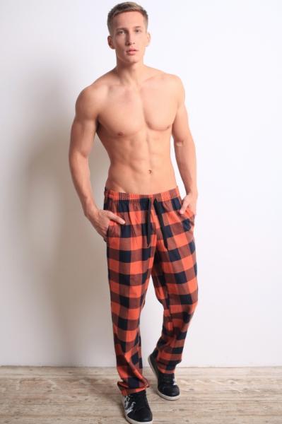 Мужские домашние брюки PDB-056