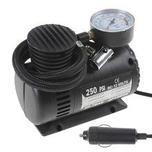 Фото Авто Портативный 12 В 90 Вт 250PSI авто электрический насос воздушный компрессор шин инфлятором с 3 пневматические сопла