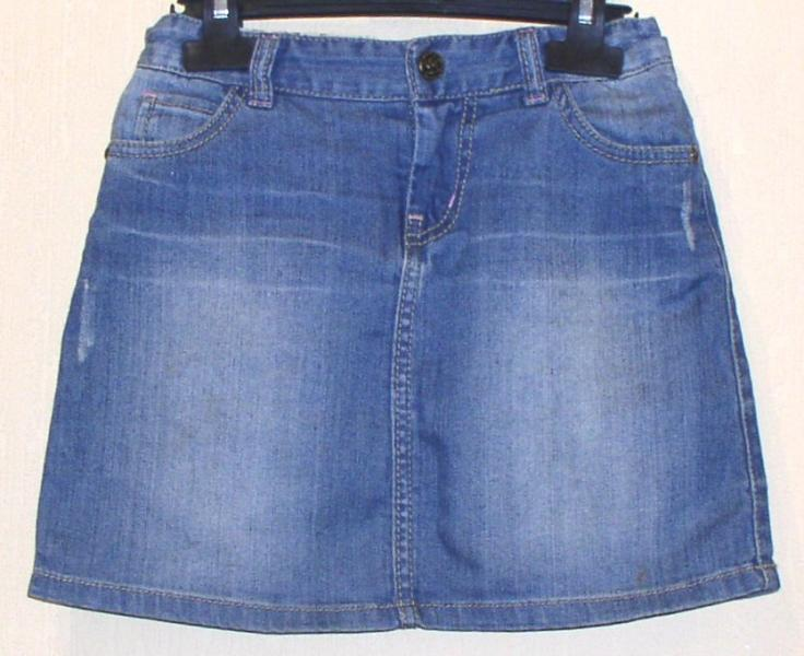 Юбка джинсовая детская *2368