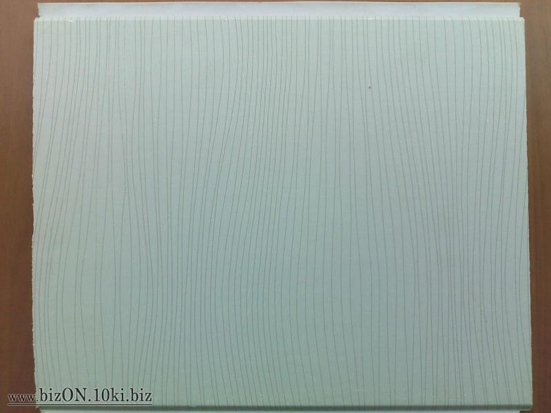 Фото Товара НЕТ в наличии «Волна Серая»   Ламинированные  пластиковые панели ПВХ   «DECOMAX»