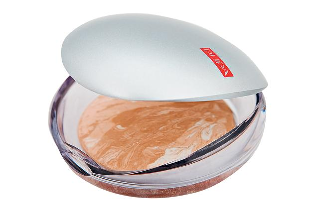 Пудра с эффектом шелка Pupa Luminys Satin Sheen Baked Powder №5