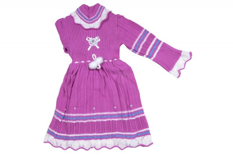 Вязанные платья 4439