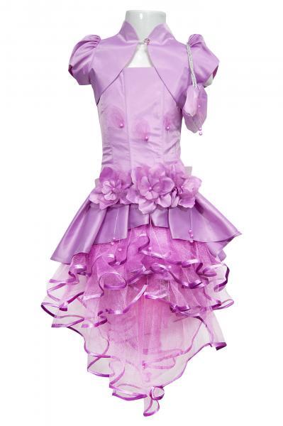 """Платье с болеро и сумкой """"Виолетта"""""""