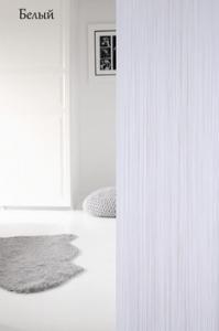 Фото Шторы нити Кисея, • «Однотонные» шторы нити «Однотонные» цвет Белый     (Арт. S-о1)