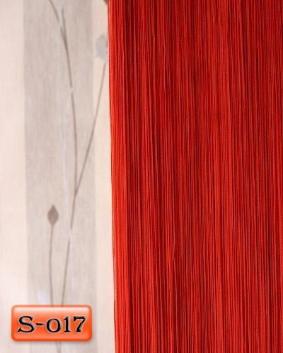«Однотонные» цвет Красный     (Арт. S-о17)
