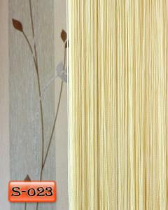 Фото Шторы нити Кисея, • «Однотонные» шторы нити «Однотонные» цвет Молочный     (Арт. S-о23)