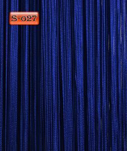 Фото Шторы нити Кисея, • «Однотонные» шторы нити «Однотонные» цвет Электрик     (Арт. S-о27)