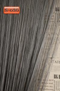 Фото Шторы нити Кисея, • «Однотонные» шторы нити «Однотонные» цвет Графитовый     (Арт. S-о30)