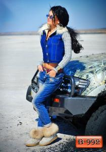 Фото Верхняя одежда Арт. В-992     Джинсовая женская куртка