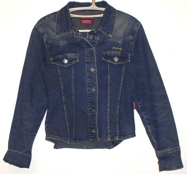 """Куртка джинсовая подростковая девичья """"Pavarotti"""" *2562"""