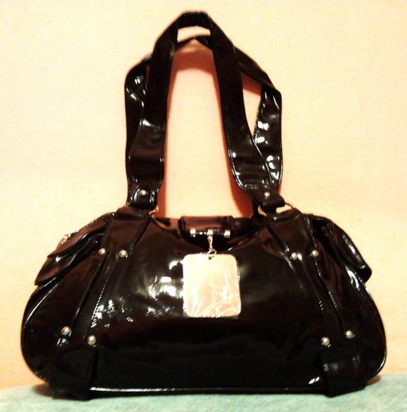 Дамская сумка черная
