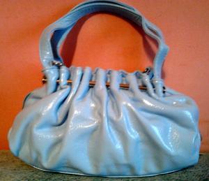 Фото Женские сумки Стильная сумочка небесного цвета