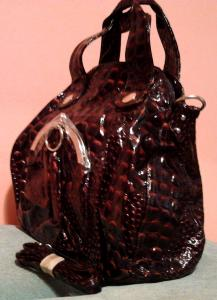 Фото Женские сумки Женская сумка с нарядным декором (искусственная