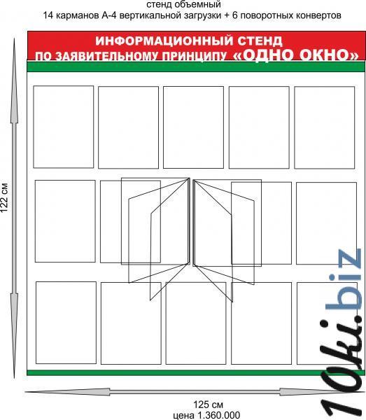 """Стенд категории """"Одно окно"""" купить в Беларуси - Изготовление стендов"""