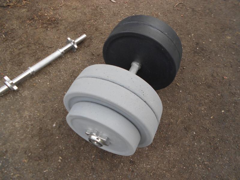 Гантели разборные по 11 кг (пара)