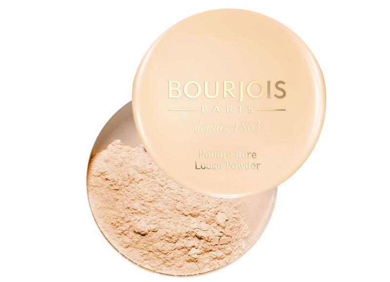 Рассыпчатая Пудра Bourjois Poudre libre Loose Powder №3 Золотистый светлый загар