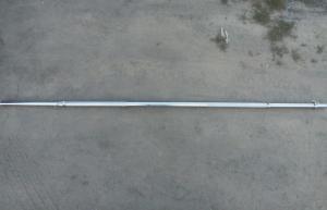 Фото Грифы Гриф 1,8 м, диаметр 30 мм (замки-хомуты)