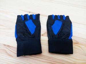 Фото Разное Перчатки атлетические комбинированные (без пальцев)
