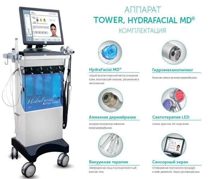 Косметологический аппарат для лица TOWER Hydrafacial MD®