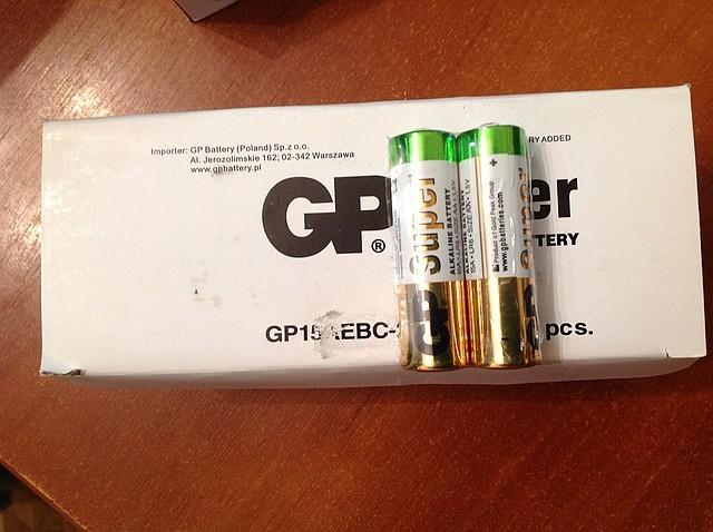 Батарейка GP R03/R06